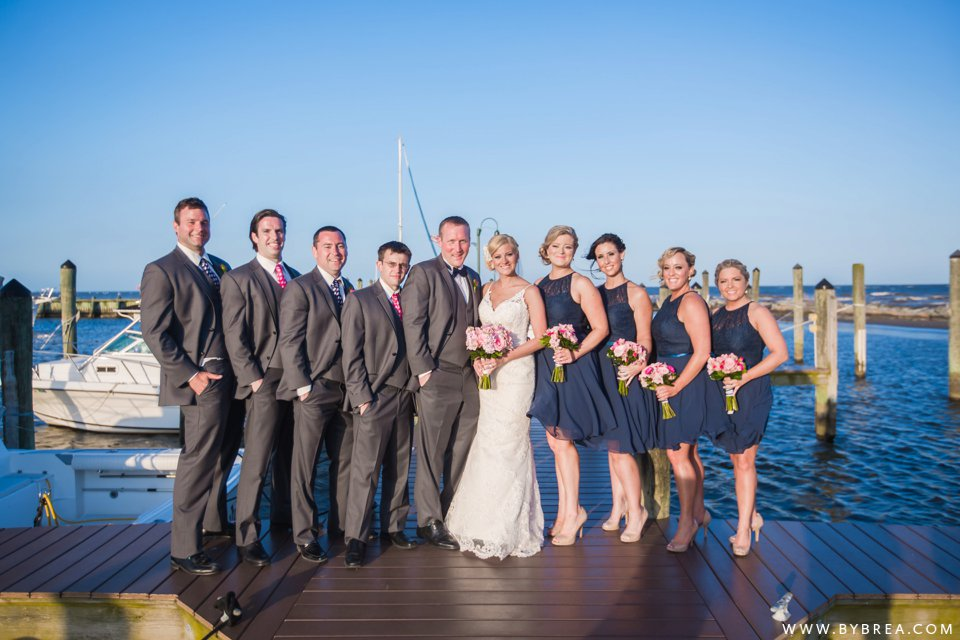 Allyson Zach Chesapeake Beach Resort And Spa Wedding