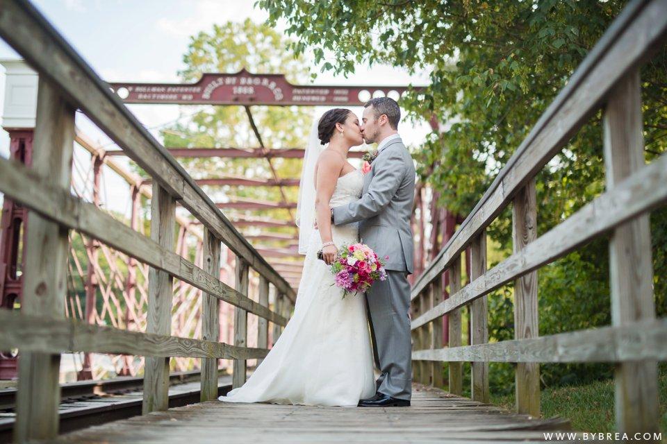 Annie Wijy Historic Savage Mill Wedding