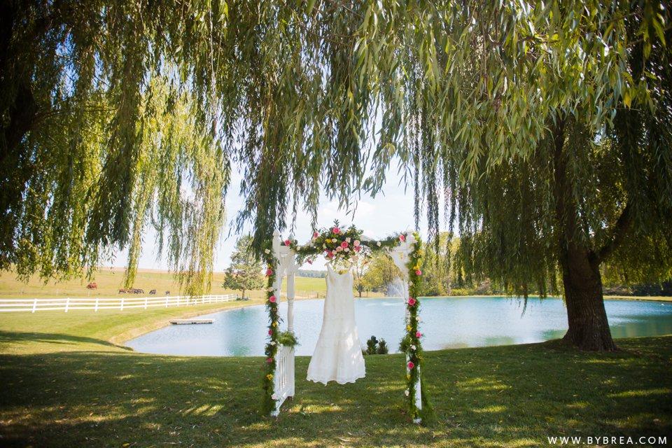 Sandy Heather Pond View Farm Wedding 4382