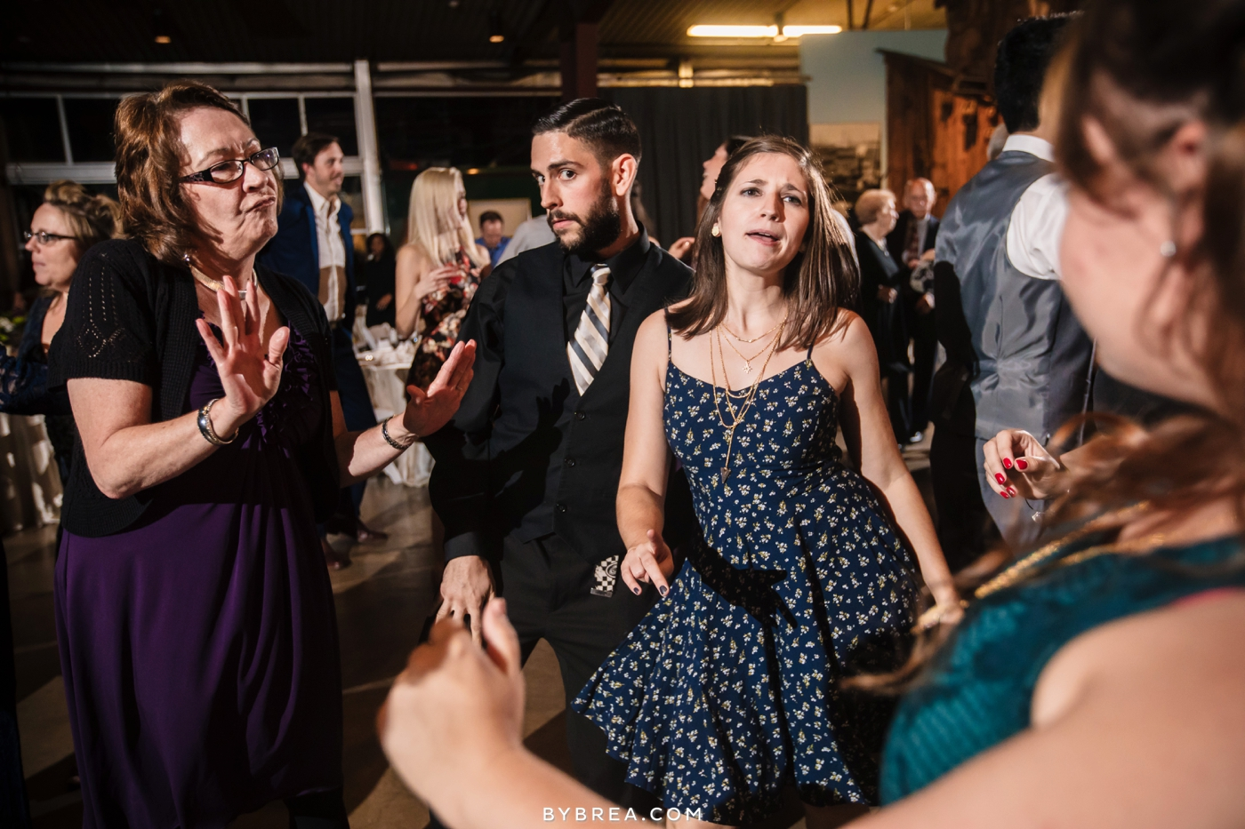 Baltimore wedding photo reception by AJ Productions