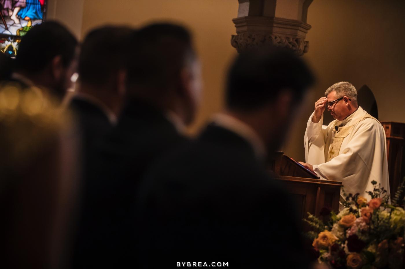 Georgetown Dahlgren Chapel wedding pastor ceremony