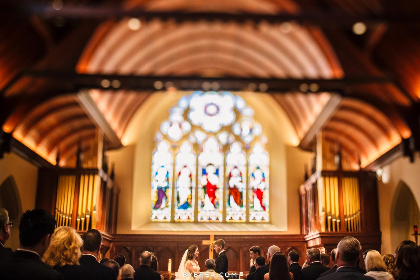 Georgetown Dahlgren Chapel wedding ceremony