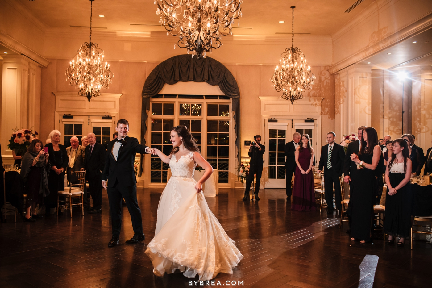 Army Navy Country Club wedding first dance