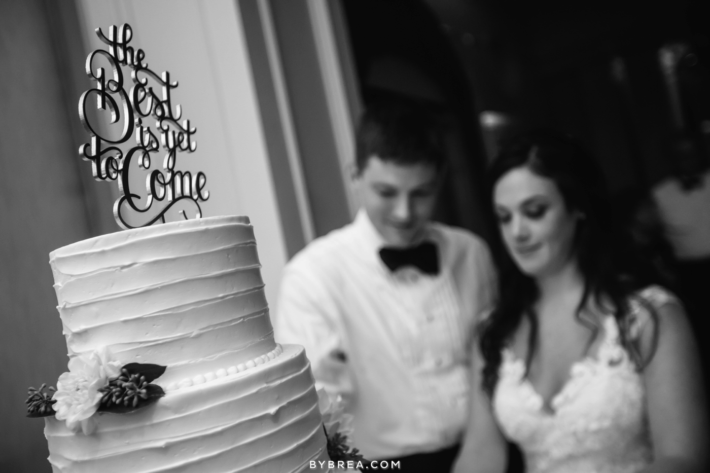 Baltimore wedding cake by Fluffy Thoughts