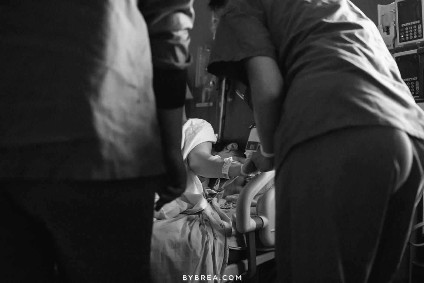 Baltimore Birth Photographer - St Joseph's Hospital