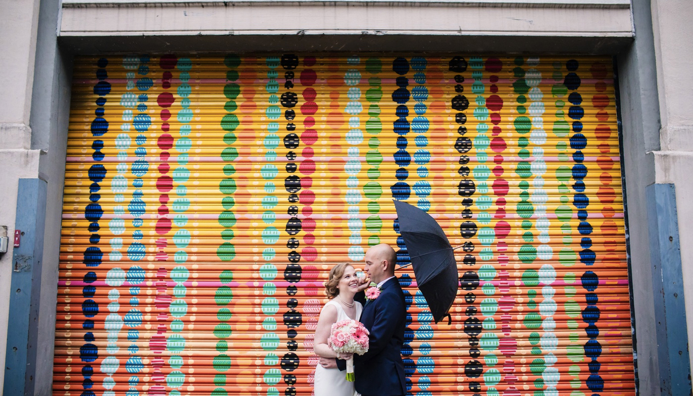 Torpedo Factory wedding photo