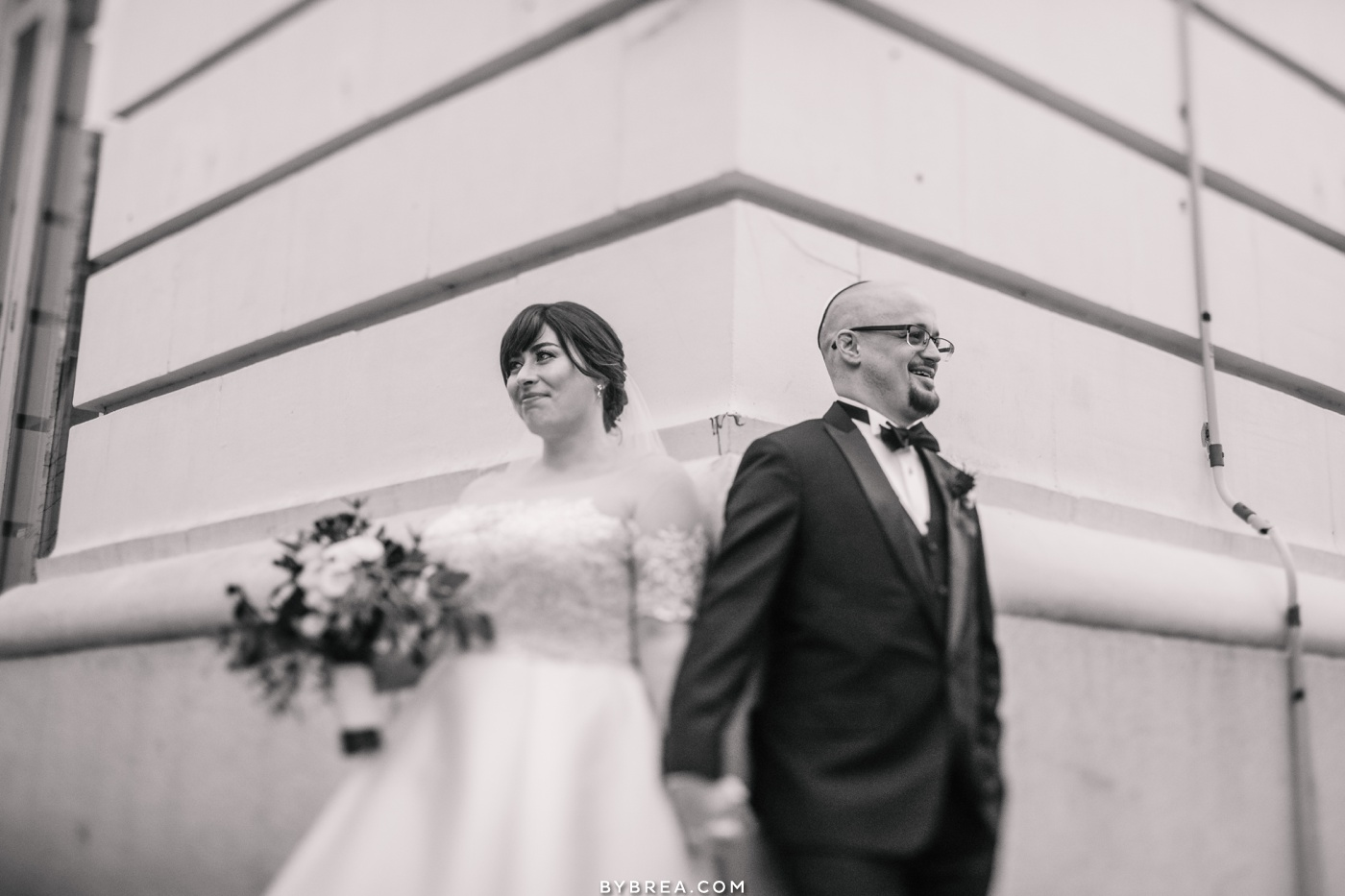 Belvedere wedding bride and groom portraits