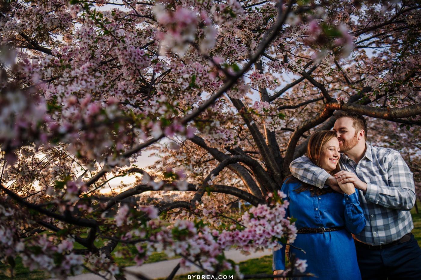 Patterson Park engagement photo Baltimore
