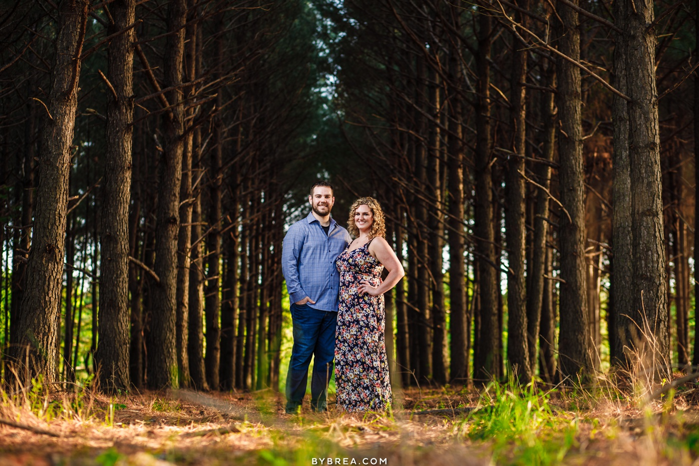 Eastern Shore engagement photography