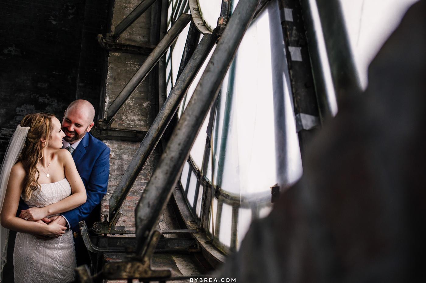 Bromo Seltzer Arts Tower Wedding Portrait Photography