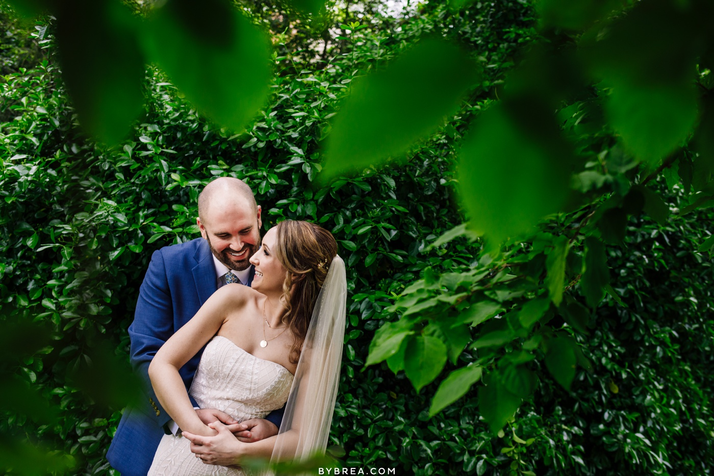 Sherwood Gardens Wedding Portrait Photography