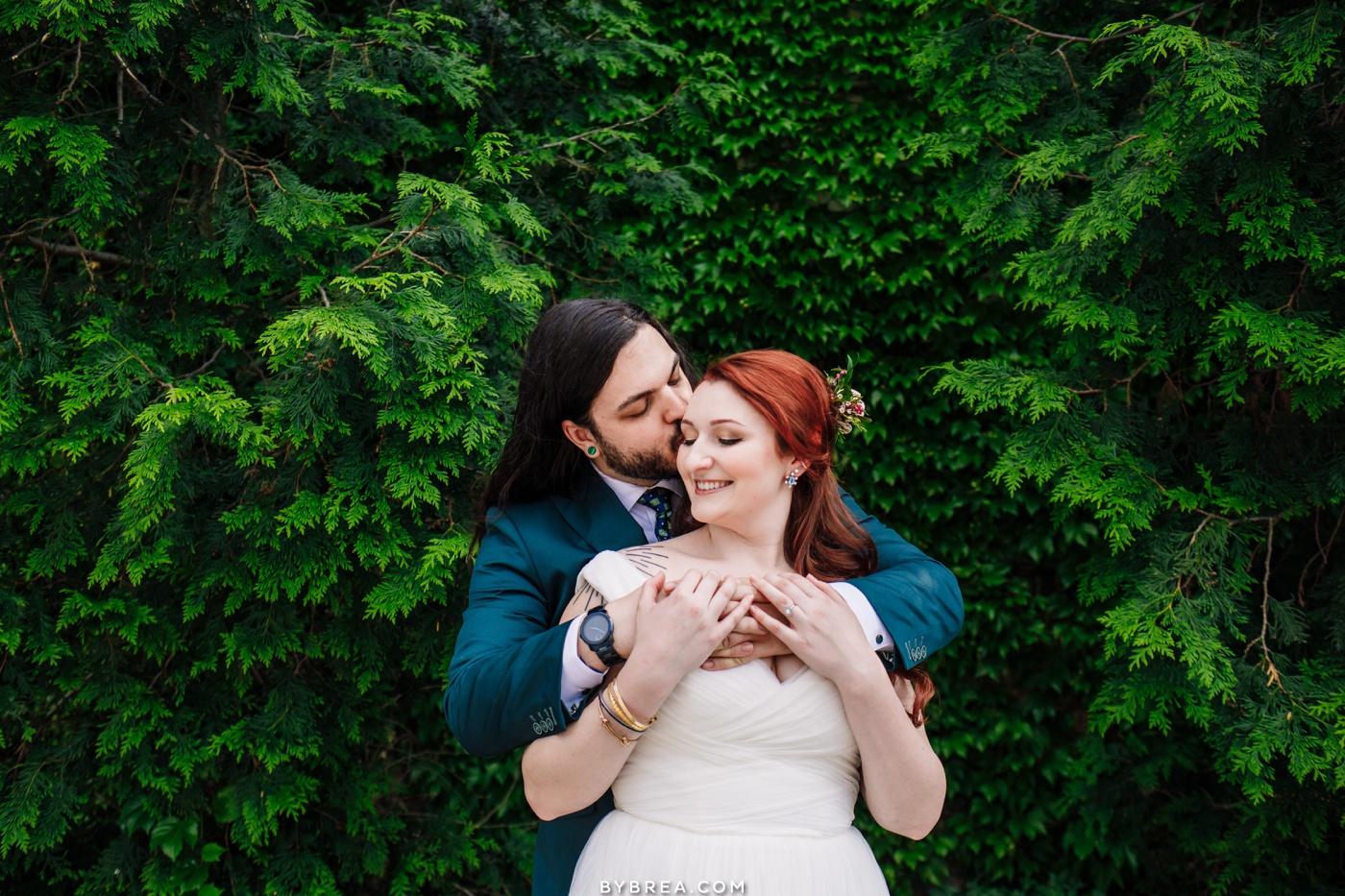 Couples portraits Mt. Vernon wedding photograph Baltimore