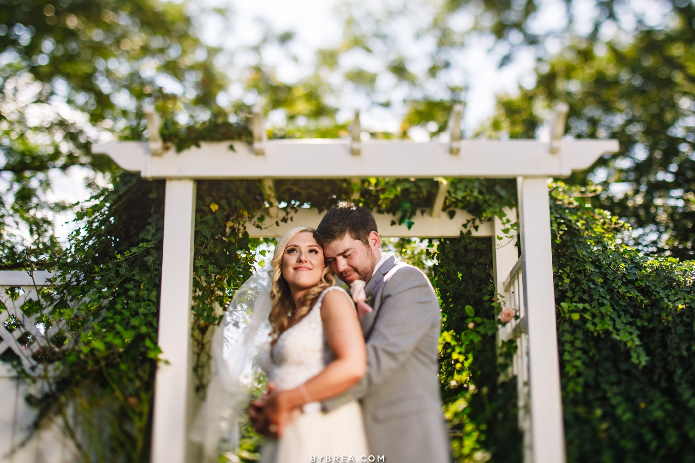 Wedding portrait at Vandiver Inn