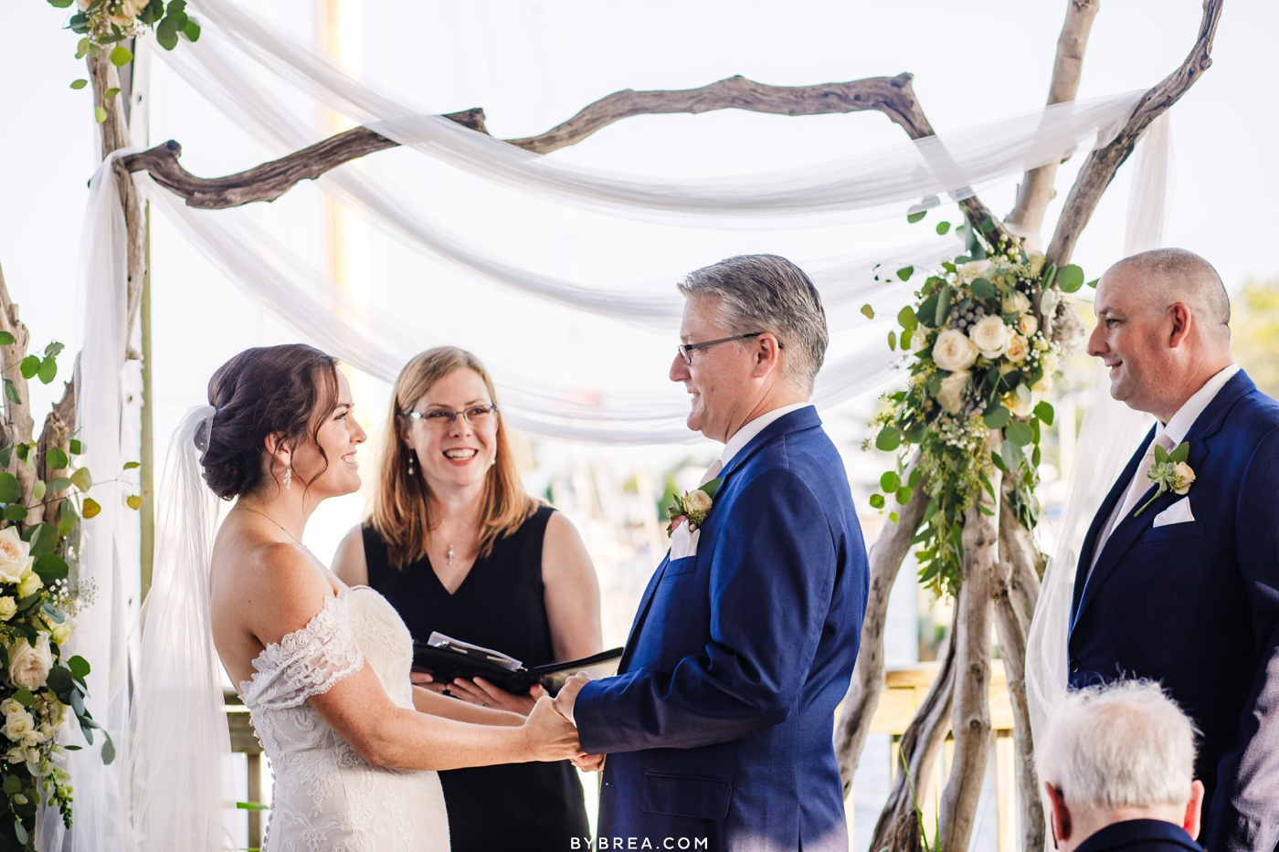 Wedding Ceremony at the Annapolis Maritime Museum
