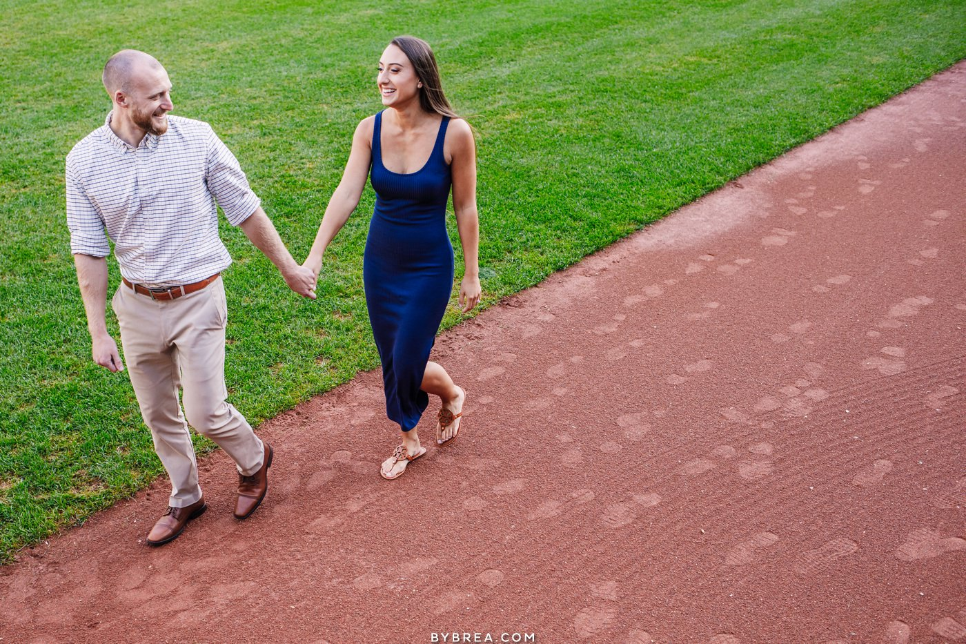 engagement pictures in camden yards