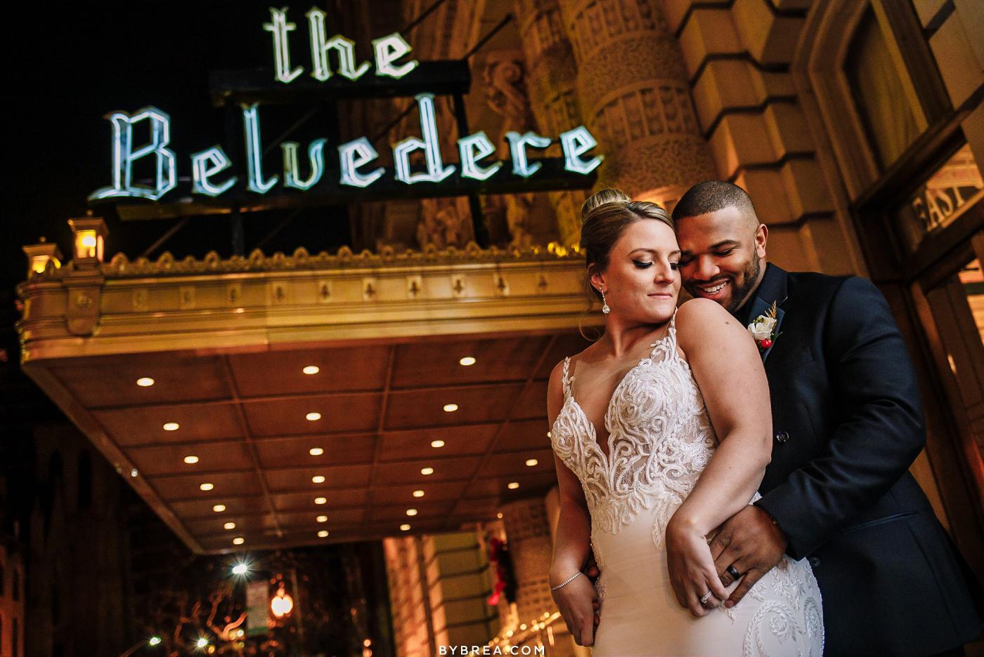 Belvedere wedding portrait