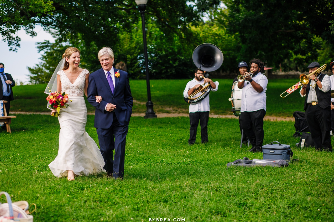 patterson park picnic wedding photos