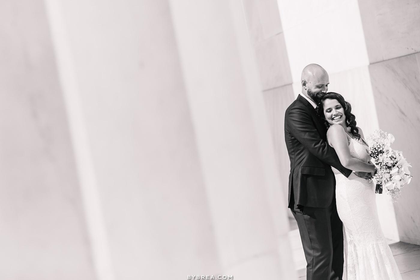 Lincoln Memorial Wedding photo
