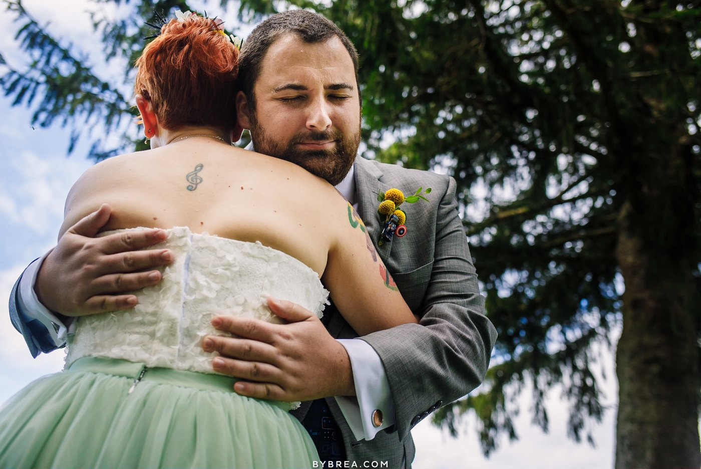 First look at Caboose Farm Wedding