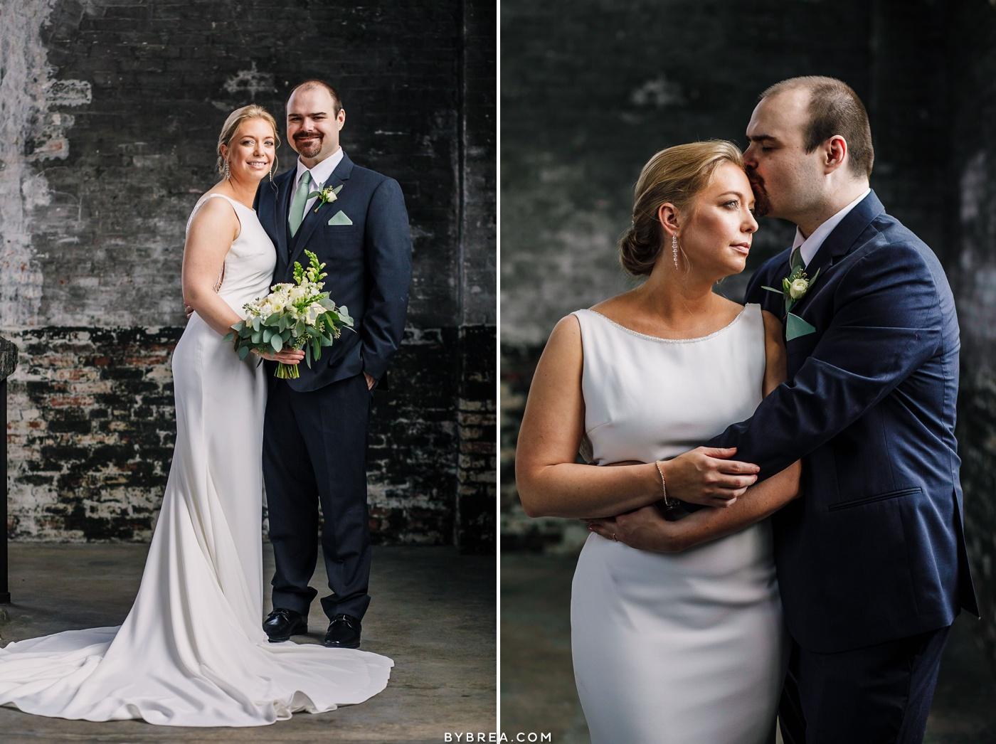 baltimore micro-wedding photos bromo seltzer arts clock tower