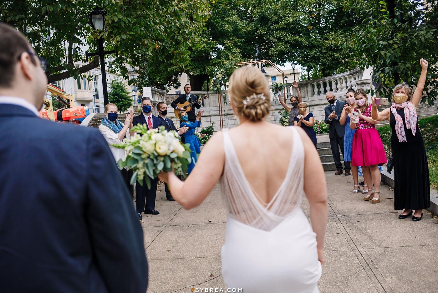 baltimore micro-wedding photos