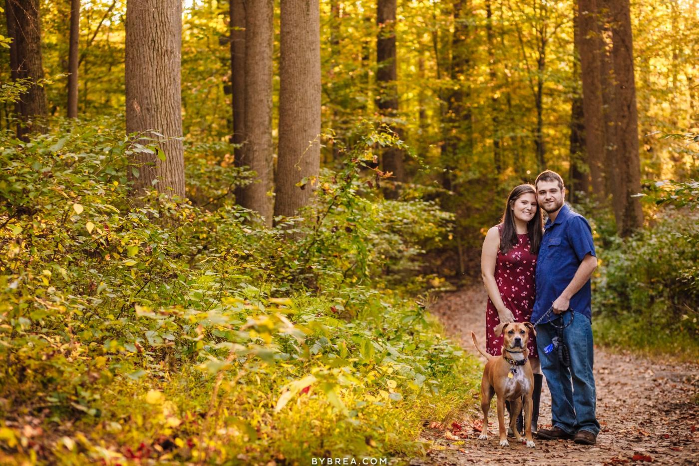 Oregon Ridge Engagement Photos