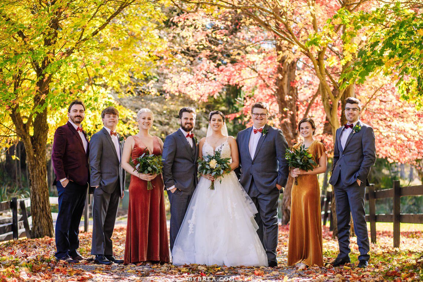 Deep Creek Wedding Photos in Fall