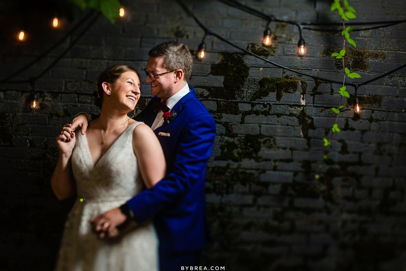 Wedding photo at the Sun Room in DC